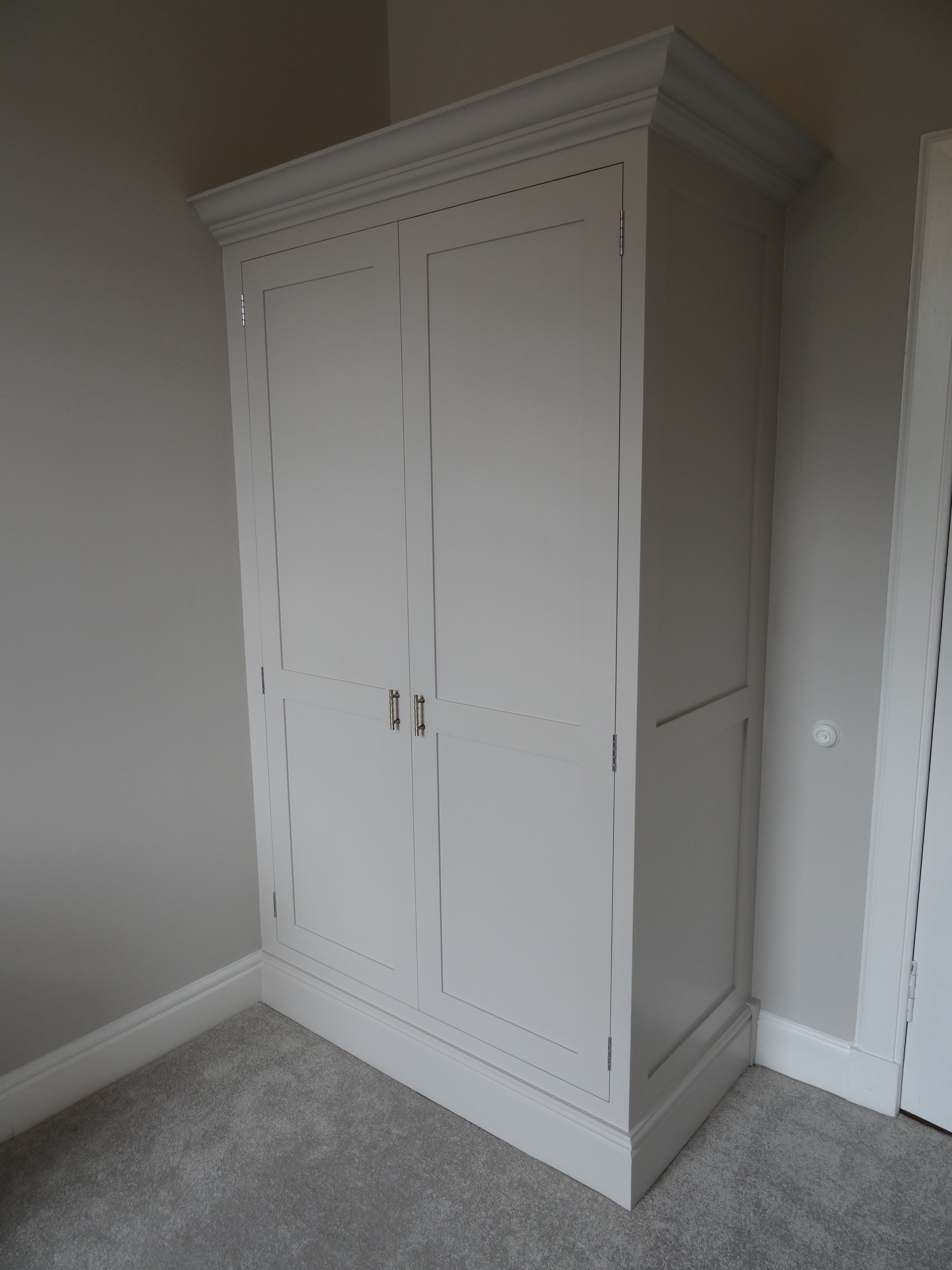 Shop For Cheap Contemporary Oak Triple Wardrobe With Drawers Shaker Style Richmond Range Exquisite Craftsmanship;