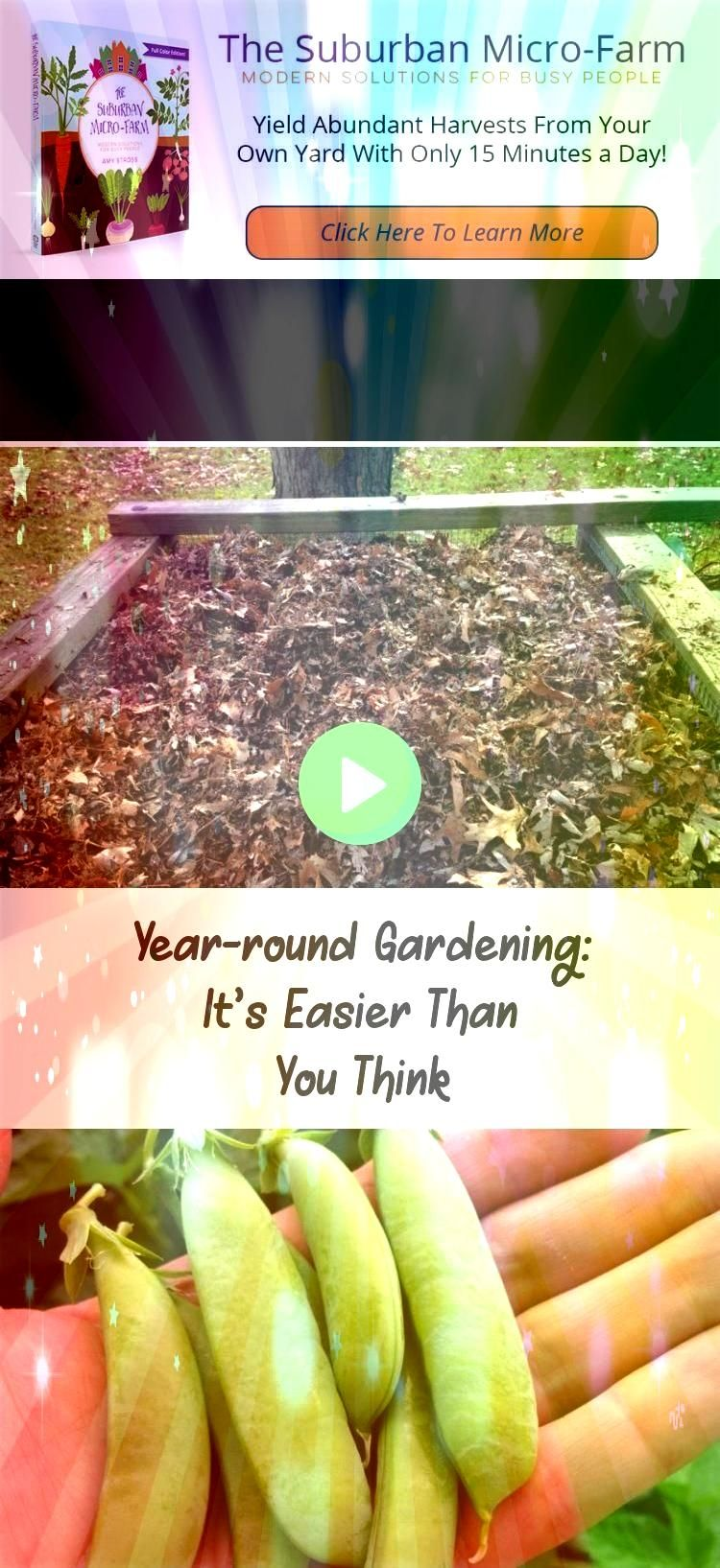 harvest to all 12 months of the year with a yearround gardening plan Are you ready to take your garden to the next levelExtend your harvest to all 12 months of the year w...