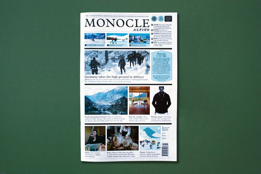 monocle newspaper