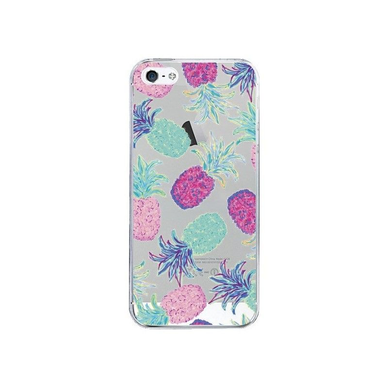 coque iphone 6 transparente ananas