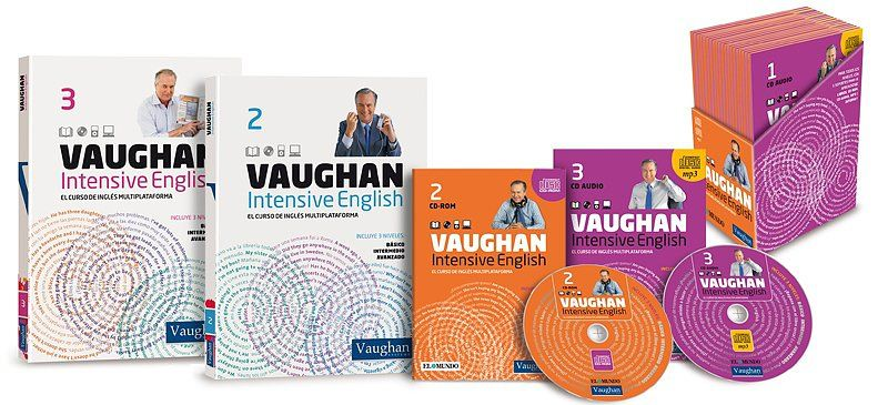 Curso De Ingles Vaughan Intensive English Completo Niveles 1 2 Y 3 121 Libros Pdf 3 95gb Df 4s Pdf Libros Curso De Inglés Vaughan