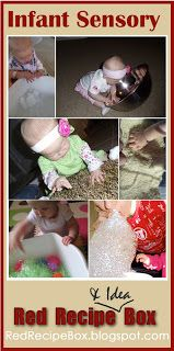 Red Recipe & Idea Box: Infant Sensory