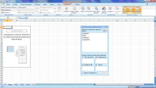 Crea Una Tabla Dinámica Fácil Y Paso A Paso Tabla Dinámica Hoja De Calculo Excel Hojas De Cálculo