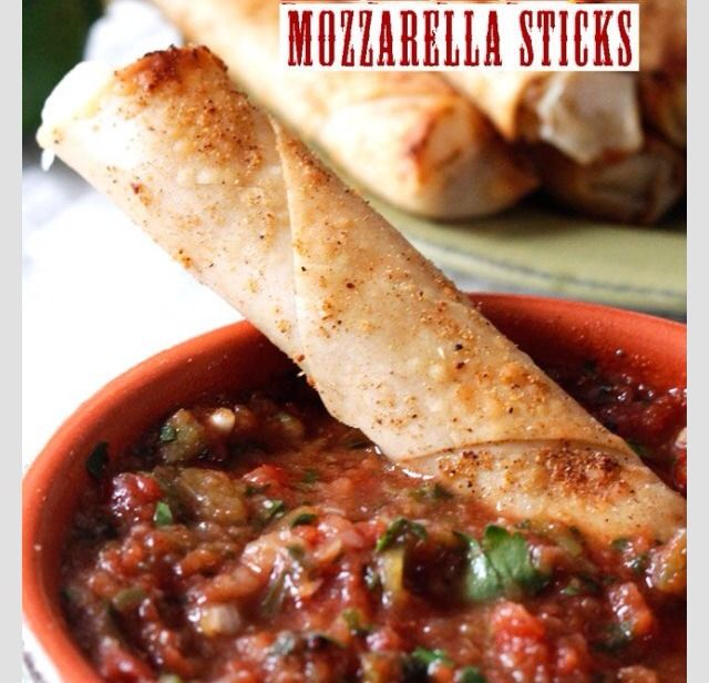 Baked Chili Lime Nacho Mozzarella Sticks Recipe! #Food #Drink #Trusper #Tip