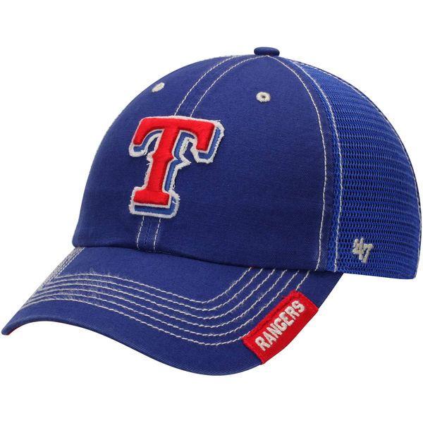 ce361e15762 Men s Texas Rangers  47 Royal Turner Clean-Up Adjustable Hat