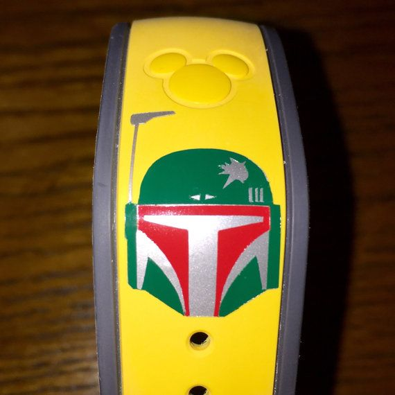 Boba Fett Magic Band Vinyl Decal By DisneypassionJennie On Etsy - Magic band vinyl decals