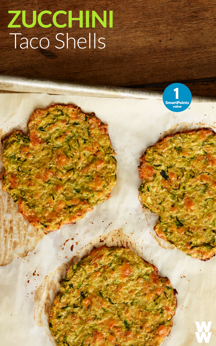 Zucchini soft taco shells 1 smartpoint value spice up your next food forumfinder Image collections