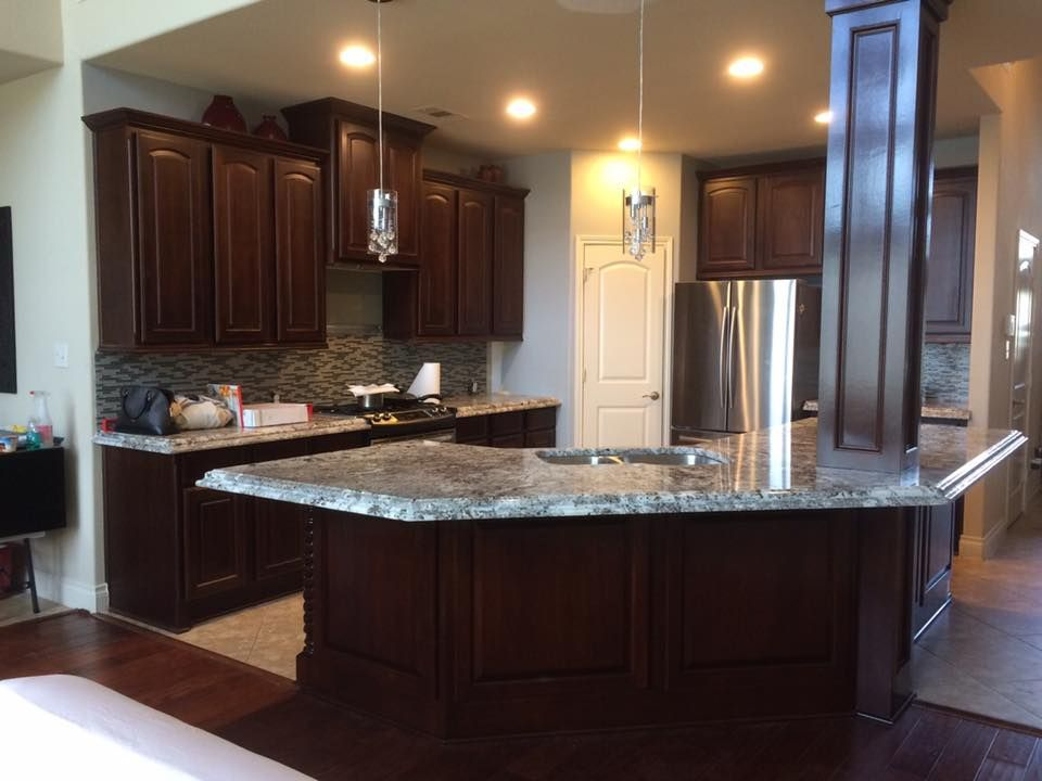 Here we have another one of our completed kitchen remodeling