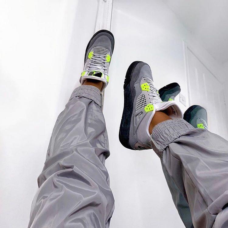 "Instagram: ""Nike Air Jordan 4 'Neon"