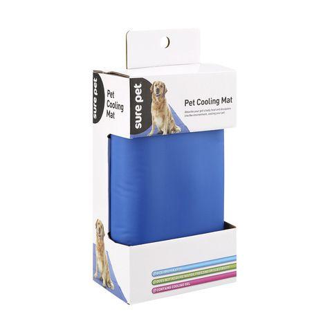 Pet Cooling Mat Blue Pet cooling mat, Cool pets, Pet mat