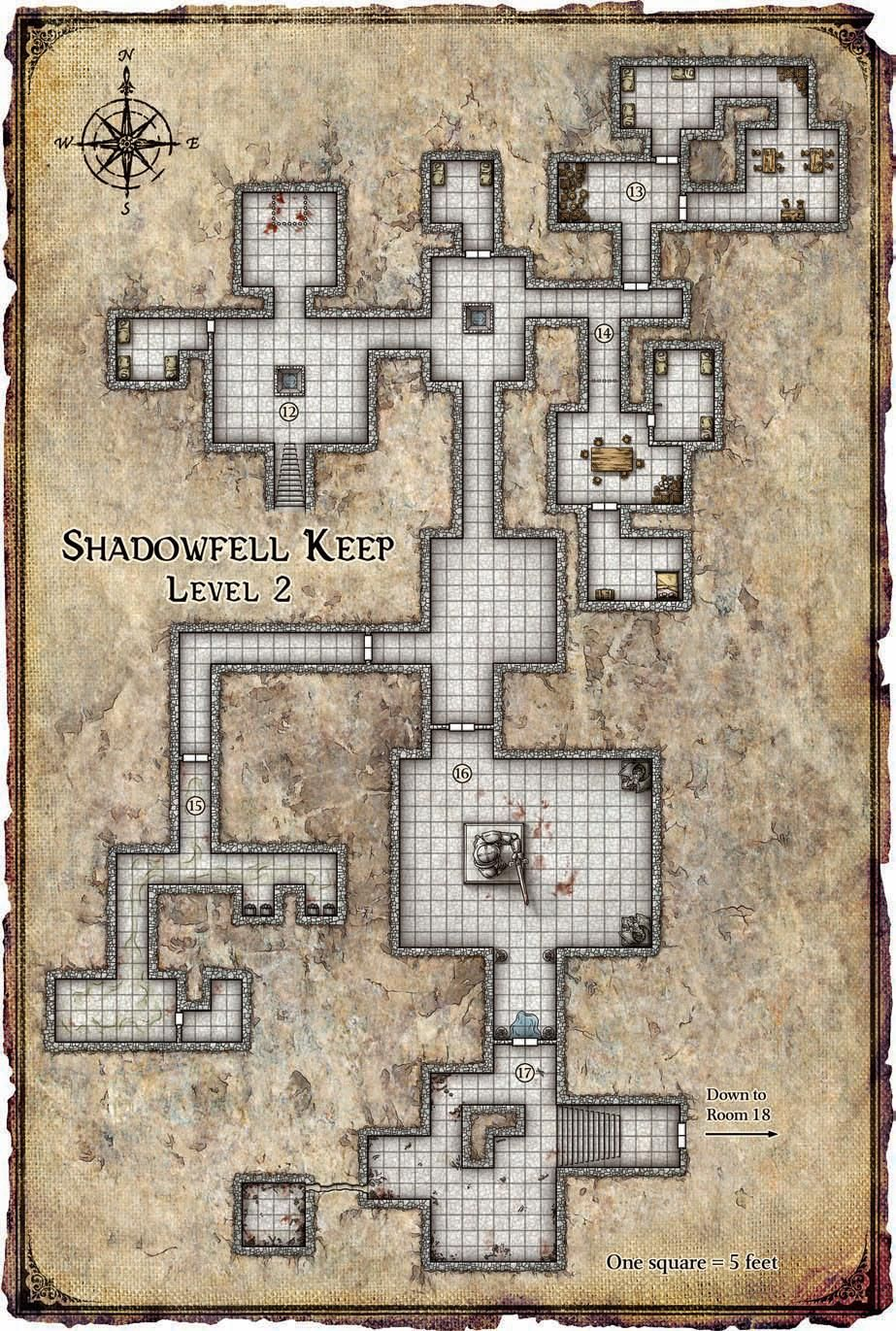 Keeponthe Shadowfell 1 Keep Lv L2