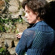 Stolen Stitches Midnight Shrug Knitting Pattern