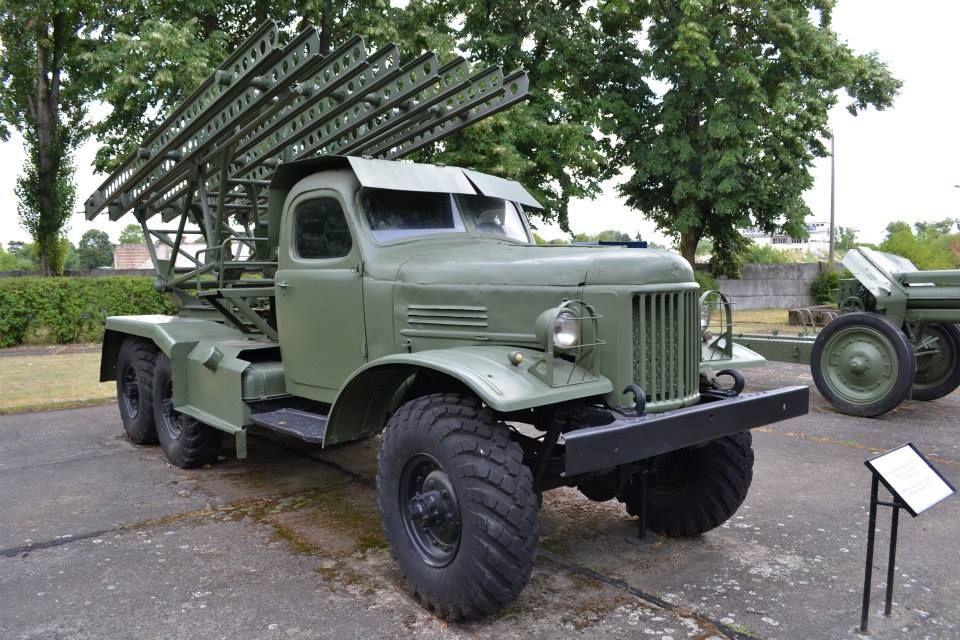 BM-13 Katyusha ZiL-157''  FRONT | Military Vehicle - Wheeled