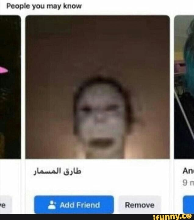 People You May Know - IFunny :)