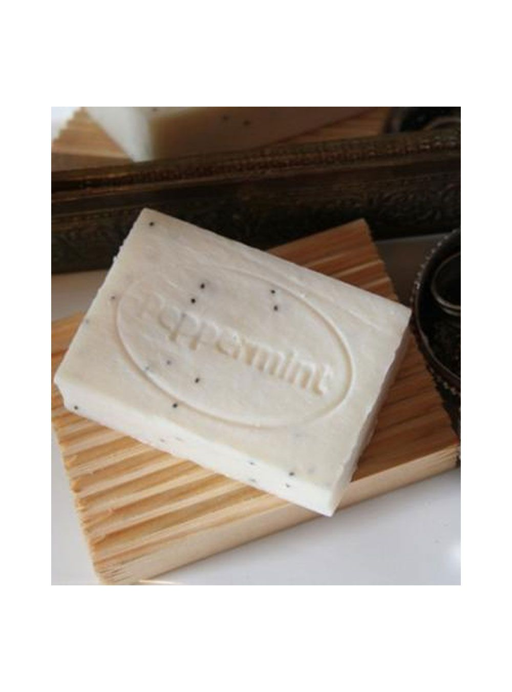 Wholesale Peppermint & Poppyseed Soap bars