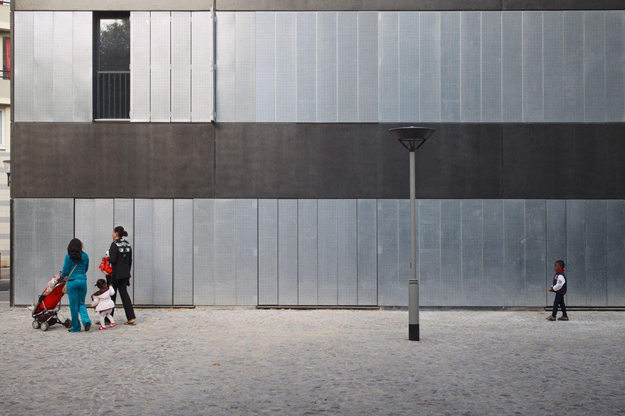 LAN Architecture, 30 public housing units, 20th arrondissement, Paris