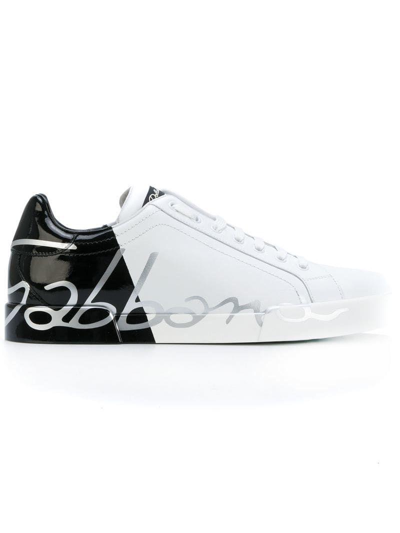 Portofino sneakers in 2020 | Dolce, gabbana man, Dolce