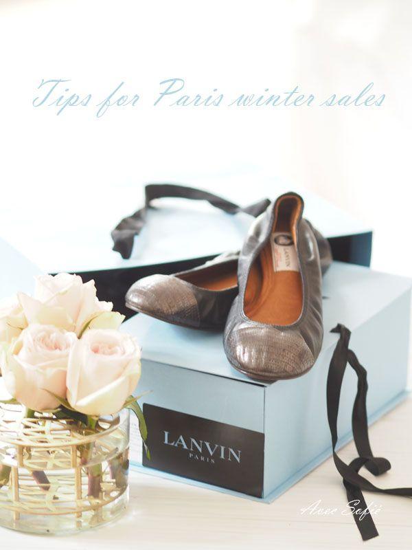 Avec Sofié blog II Tips for shopping in Paris winter sales II