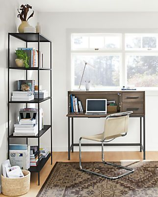 Alden Modern Office Armoire   Modern Office Storage   Modern Office  Furniture   Room U0026 Board