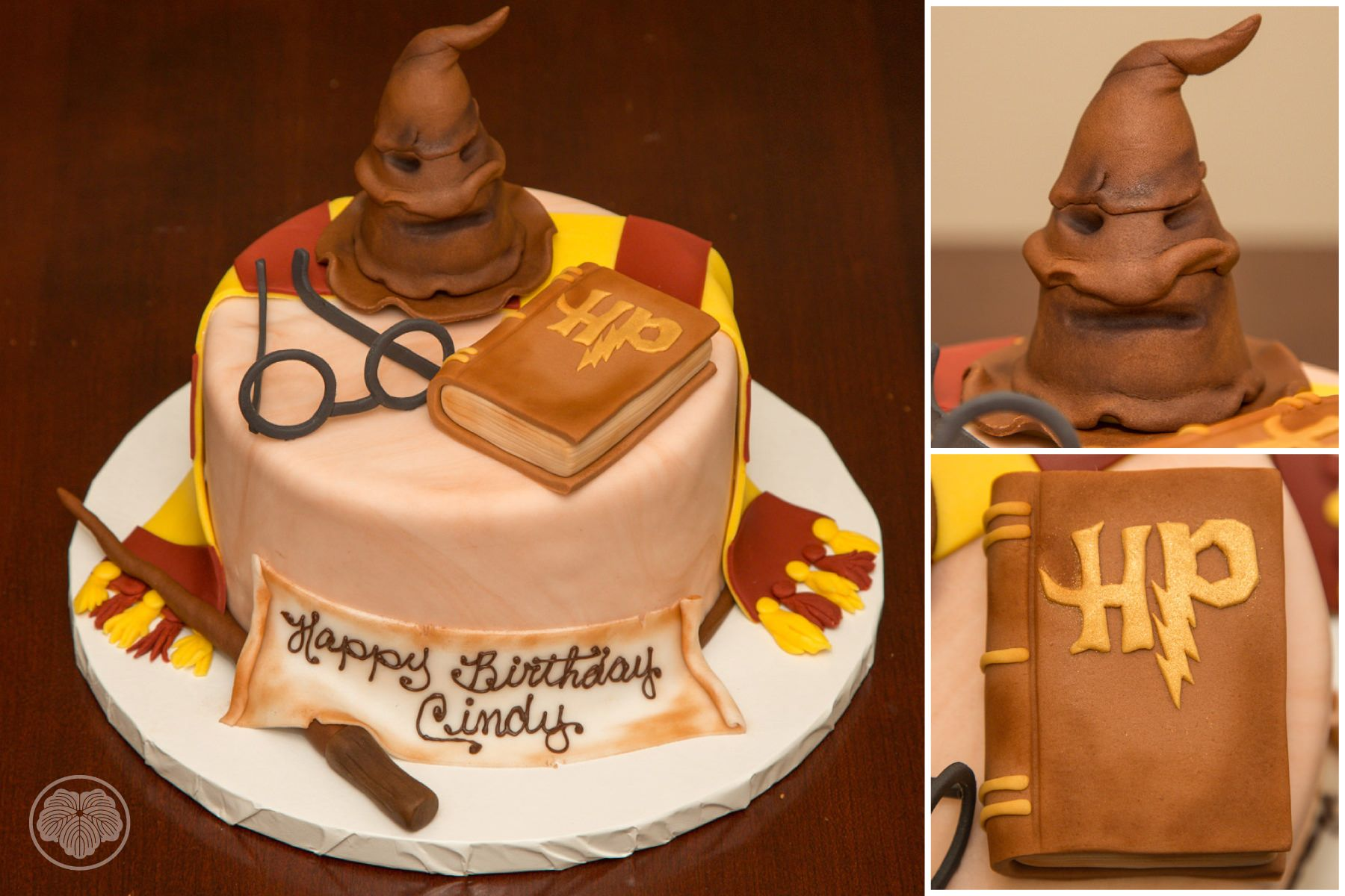 Cake, Harry Potter Cake, Custom