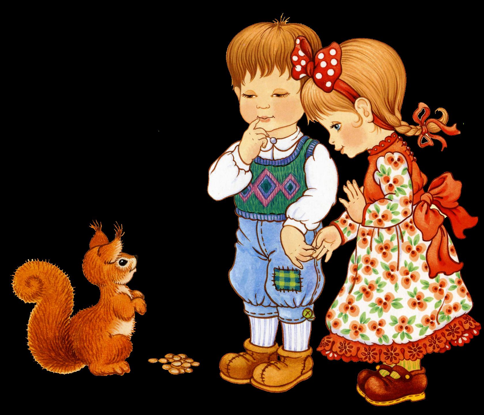 Картинки на тему девочки и мальчики для дошкольников, гифы доброе утро