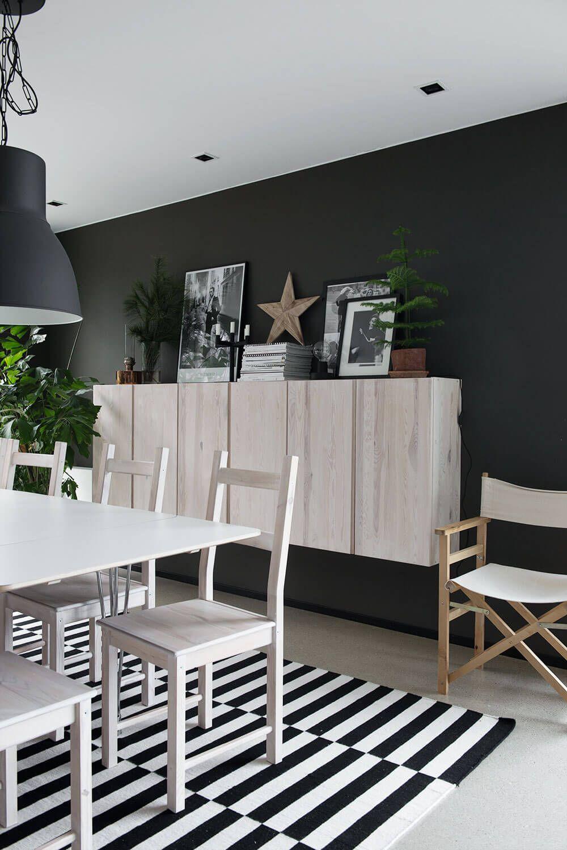 Ikea hack que faire avec les caissons en bois ivar - Ikea salle a manger moderne ...