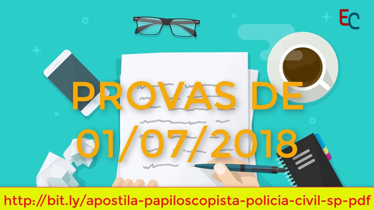Apostila De Papiloscopista Policia Civil Sp 2018 Pdf Download