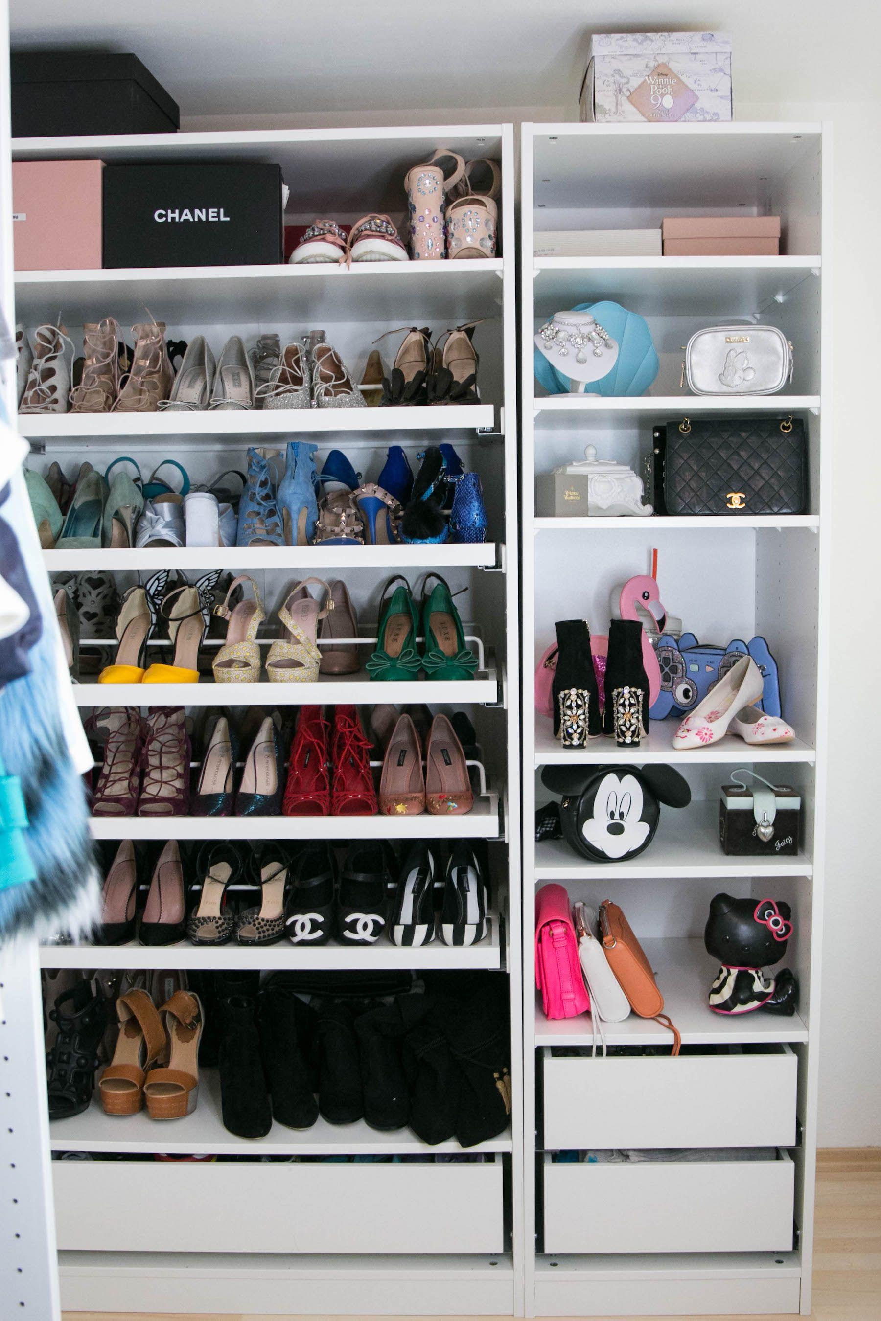 Mein Ankleidezimmer Mit Ikea Pax Gewinnspiel Sara Bow Ankleidezimmer Ankleide Zimmer Ankleide