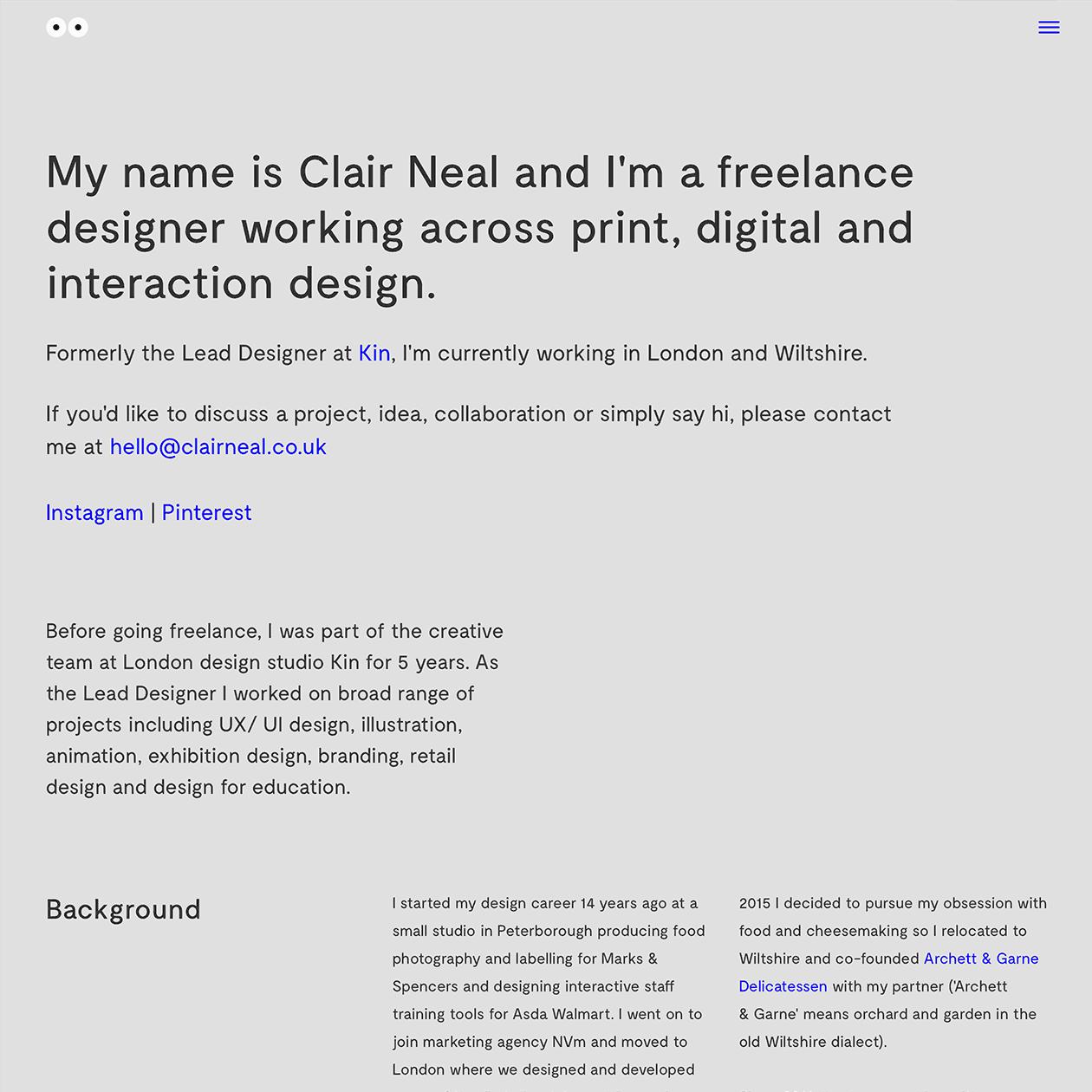 Fonts Used Moderat Typewolf Typography Inspiration Portfolio Web Design Minimalist Web Design Web Design
