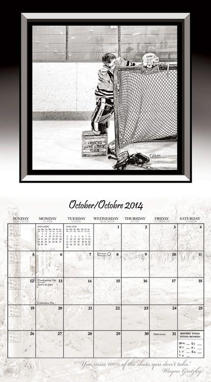 Hockey Spirit Fundraising Calendar Are A HeartWarming  Hilarious