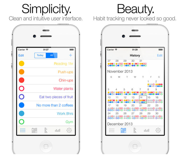 apps to track your habits and goals Goal app, Routine