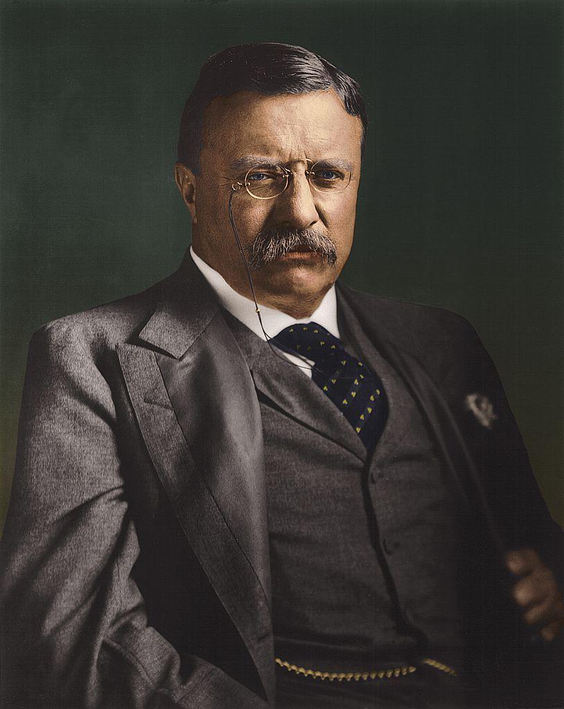 Theodore Roosevelt: Theodore Roosevelt , twenty-sixth president of the United States of...  circa 1910:  Th...