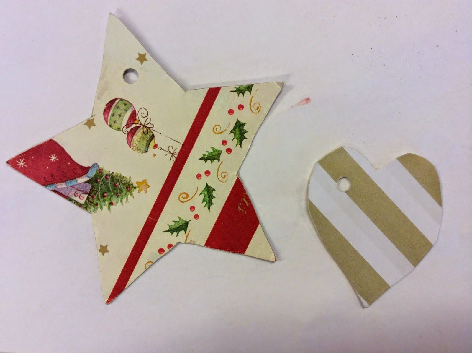 Recycle and make christmas cards