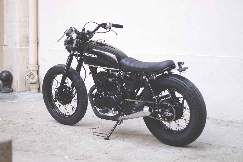 honda cm125 by dauphine lamarck motorcycles cafe racer. Black Bedroom Furniture Sets. Home Design Ideas