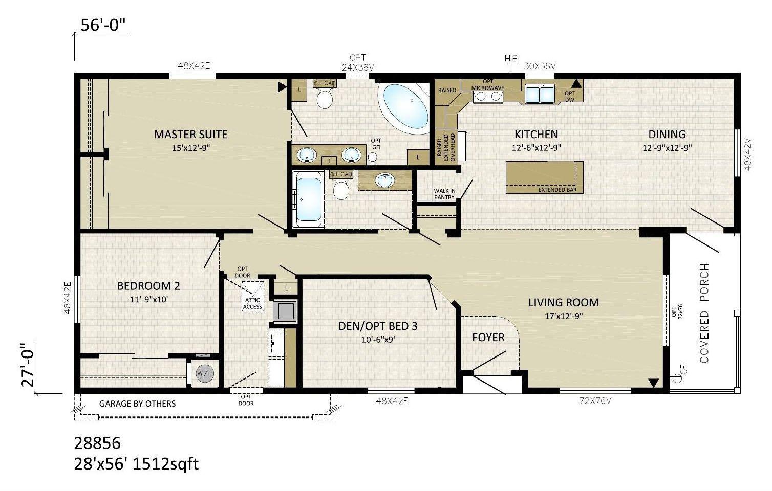 Modular Mansion Floor Plans: Mobile, Modular, Manufactured