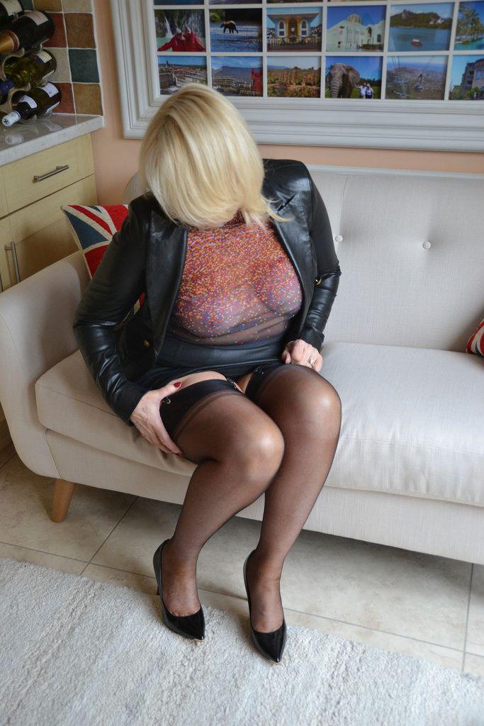 big Slutty ass stockings milf