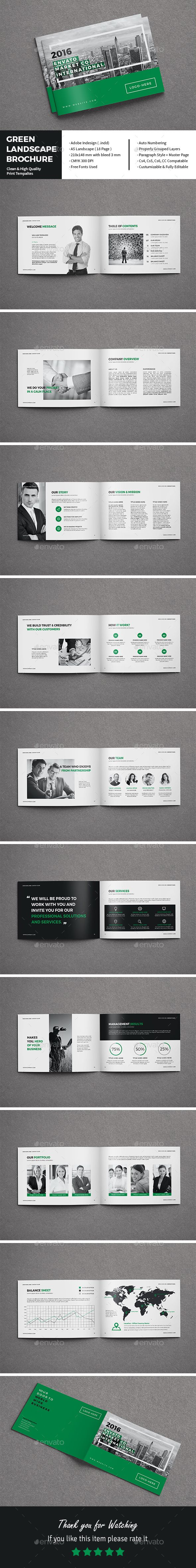 70 Modern Corporate Brochure Templates Design Shack. 29 Modern ...