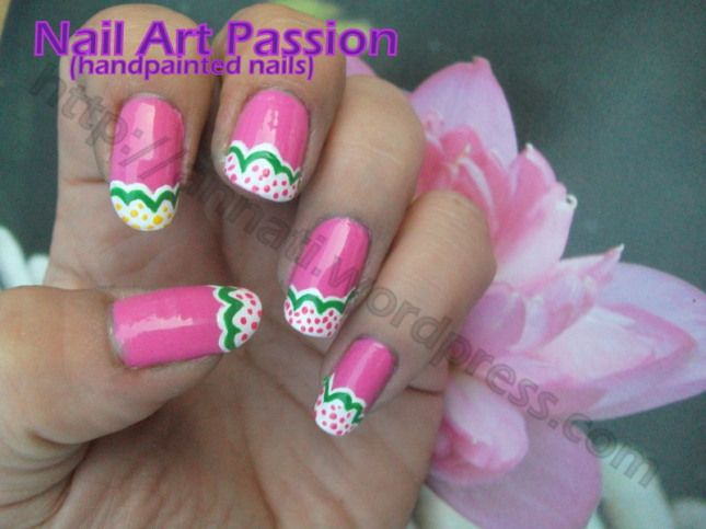 Sweet Sixteen Nails With Images Nails Nail Designs Hand Painted