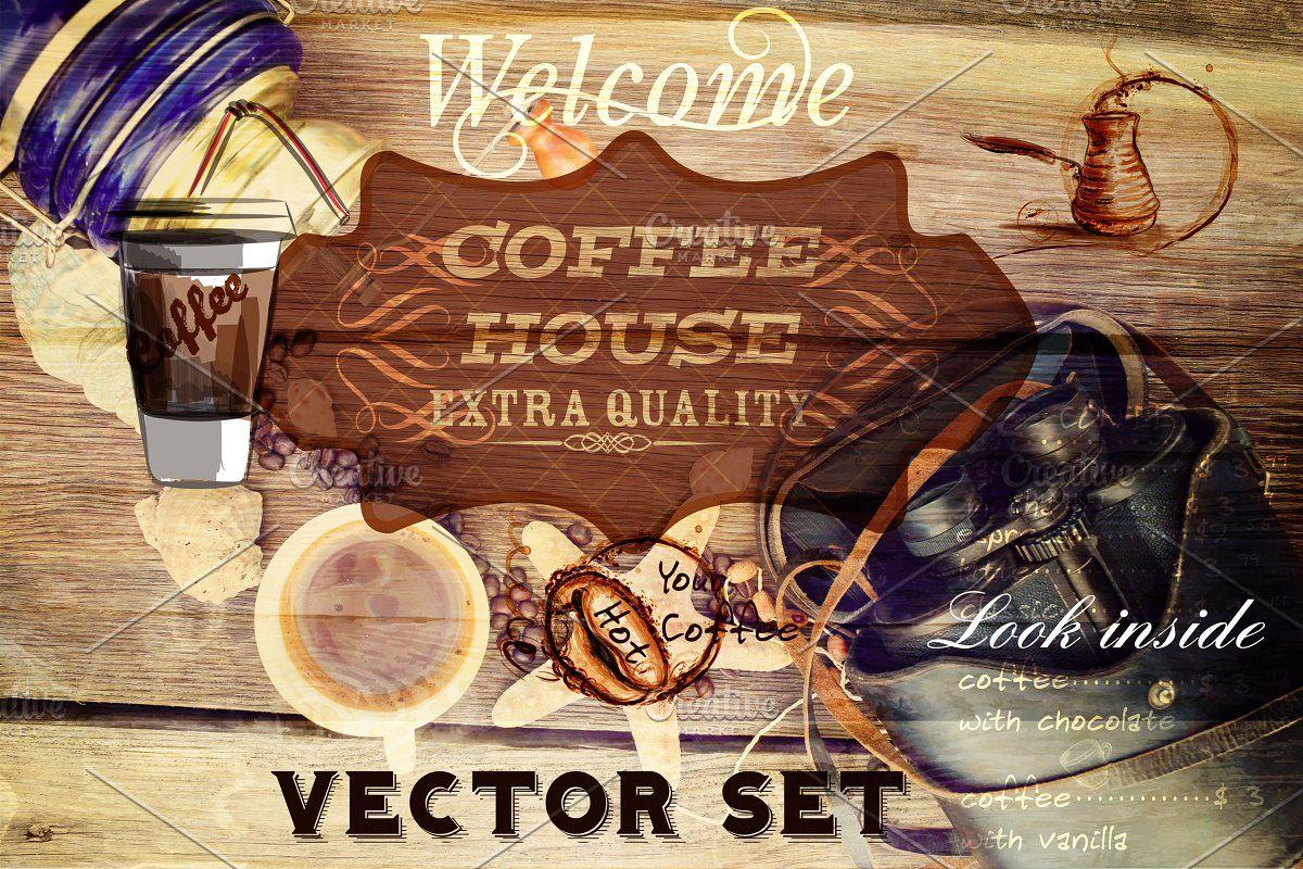 Coffee Vector Bundle In