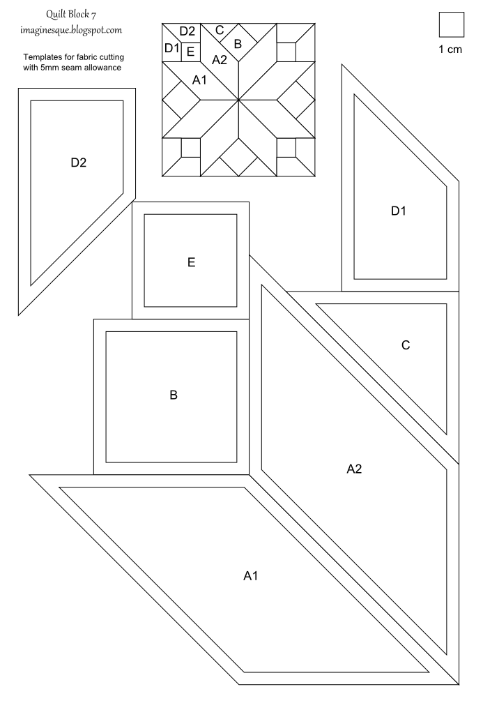 imaginesque free quilt block patterns and templates | Quilts ... : free quilt block patterns to print - Adamdwight.com