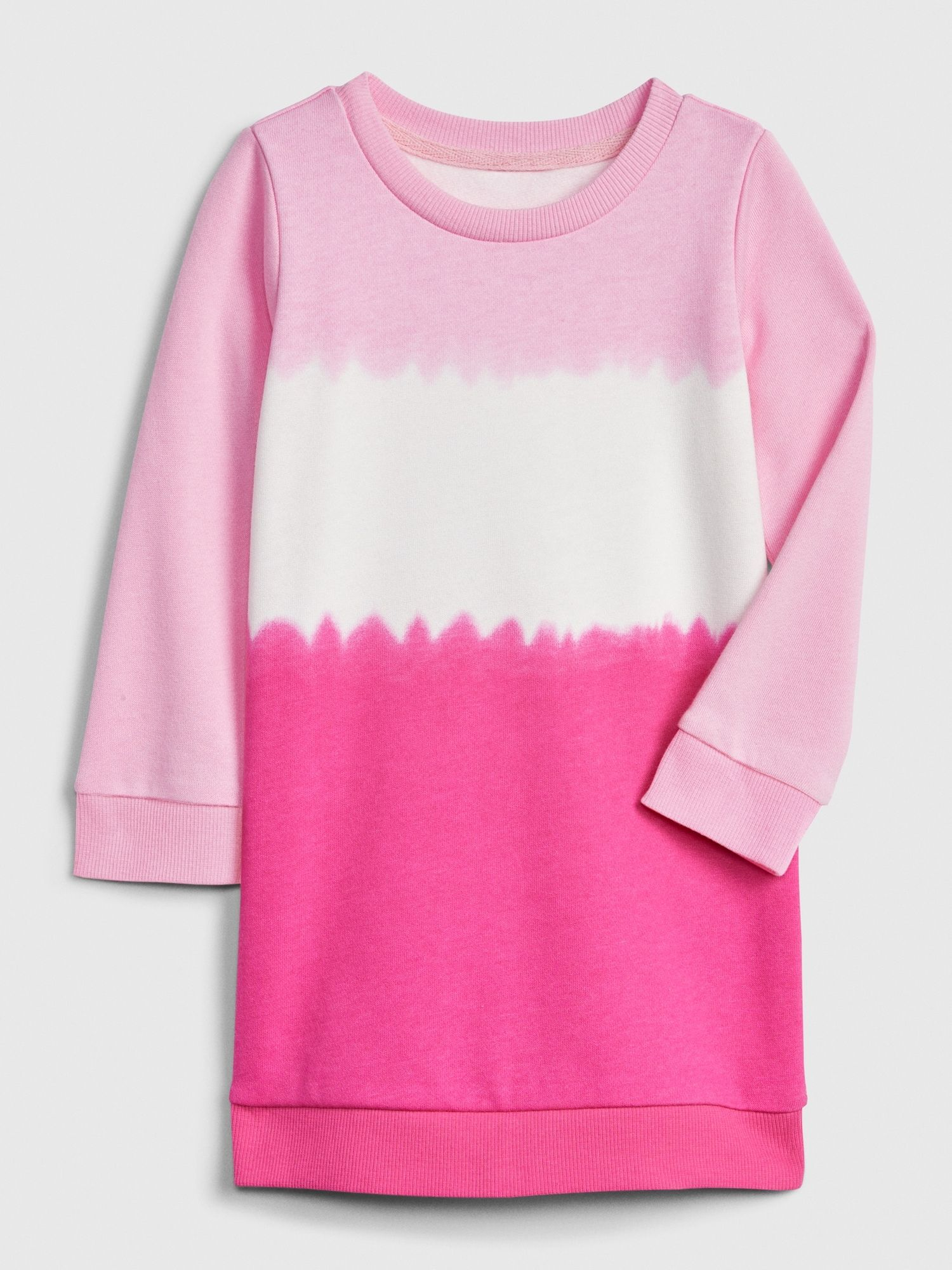 Gap Toddler Tie Dye Sweatshirt Dress Pure Pink Toddler Ties Girl Sweatshirts Tie Dye Sweatshirt [ 2000 x 1500 Pixel ]