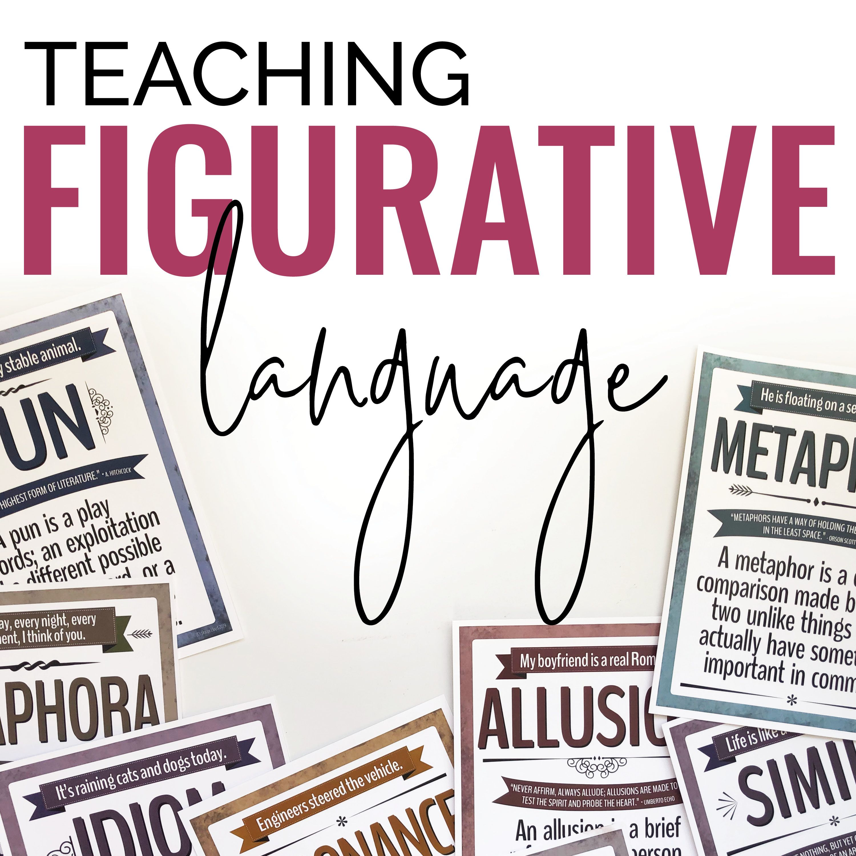 Pin By Stacey Lloyd On Figurative Language