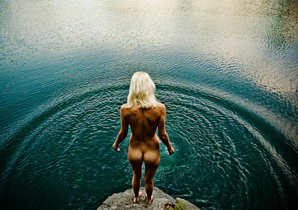Topless girls at spring break