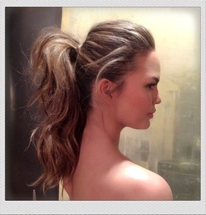 Bouncy Ponytail