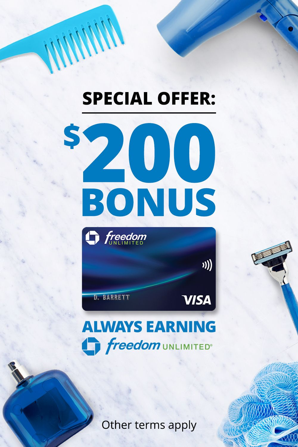 Get 0 Intro Apr For 15 Mos Plus No Annual Fee Chase Freedom Unlimited Always Earning Tips Commercial Coupons