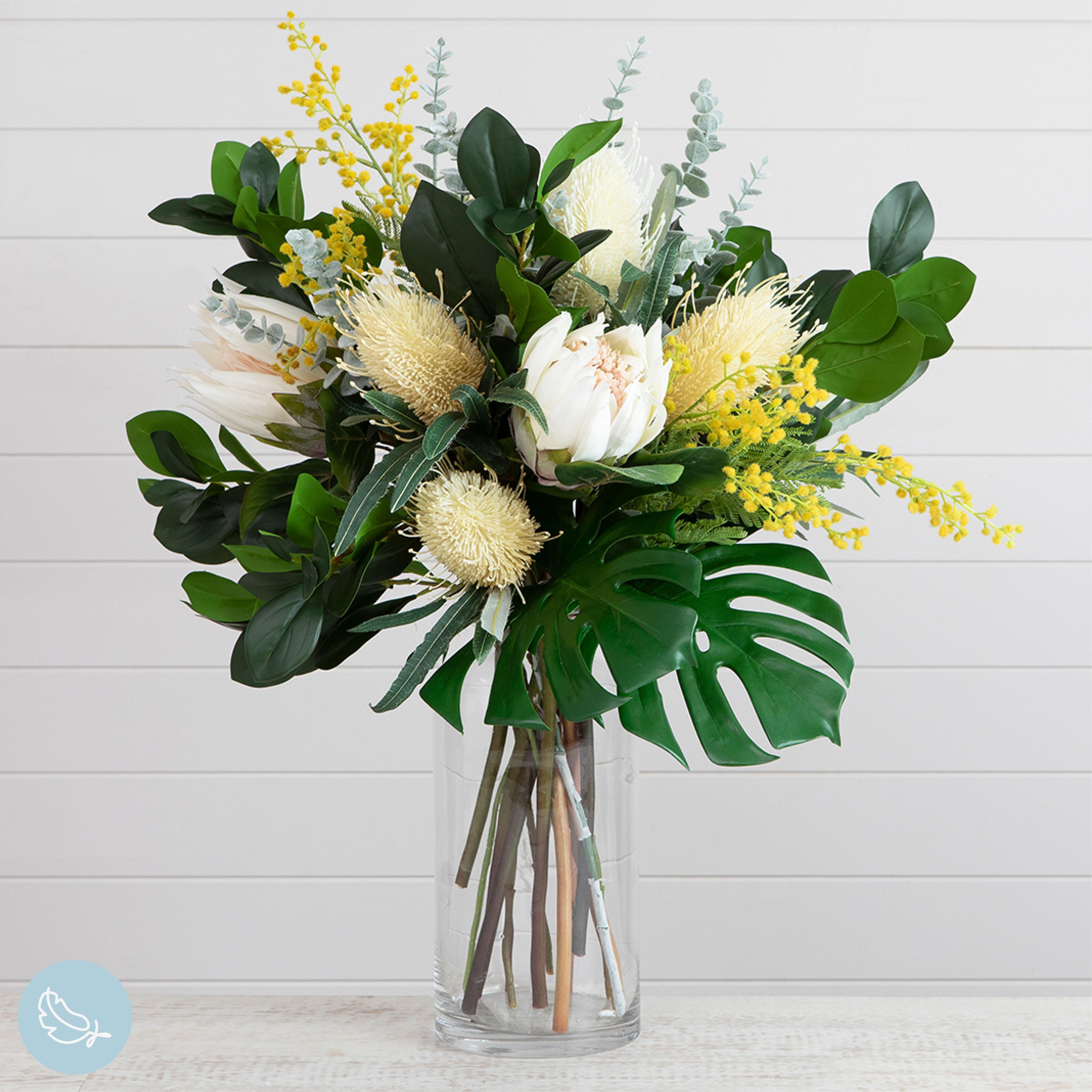 Yellow And Green Artificial Flower Arrangement Artificial Flowers Artificial Flower Arrangements Artificial Flowers Decor