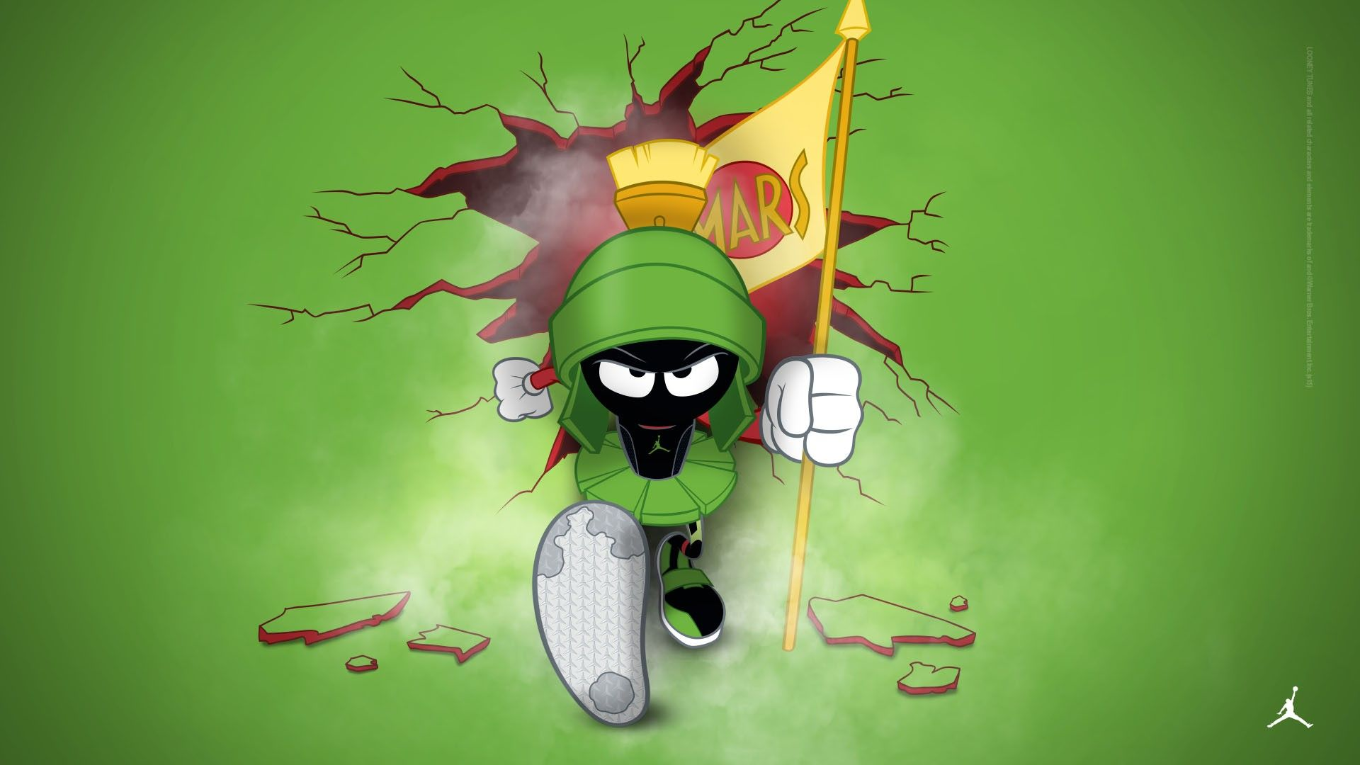 Luxury Marvin The Martian Wallpaper For Iphone Marvin The Martian The Martian Looney Tunes Wallpaper