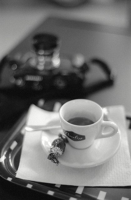 Cup of espresso at Café Sali by jsuominen