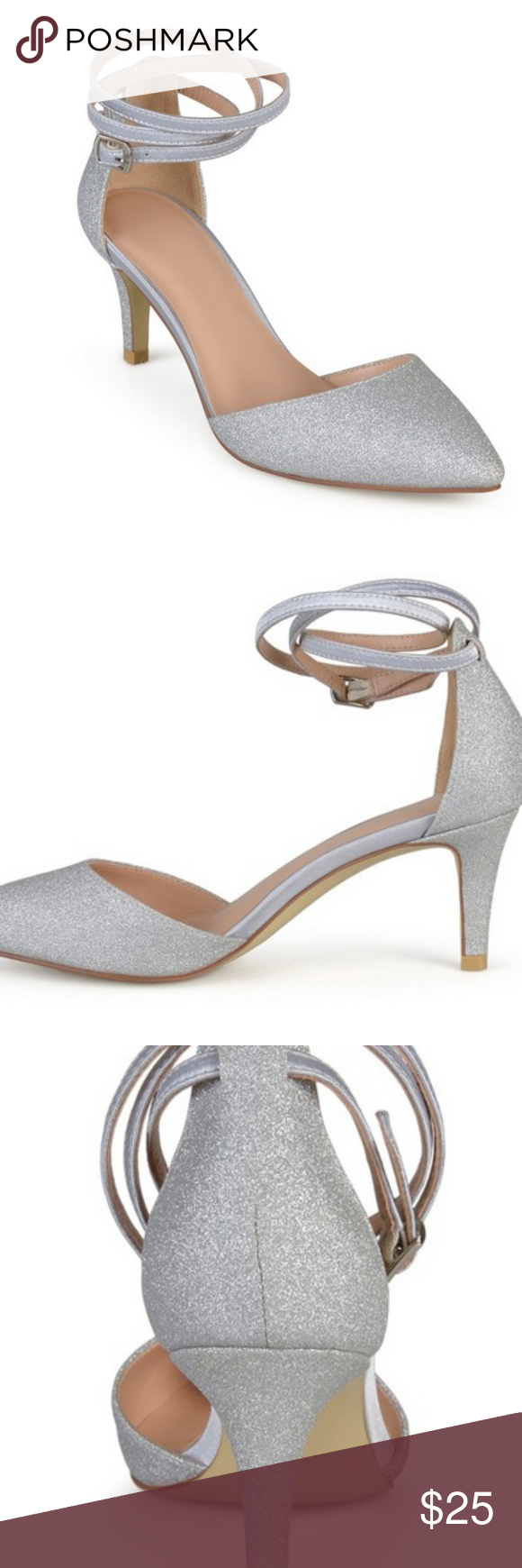 de3c42765c Journee Collection d'Orsay Luela Glitter Pumps Go for the glam with these  Women's Journee