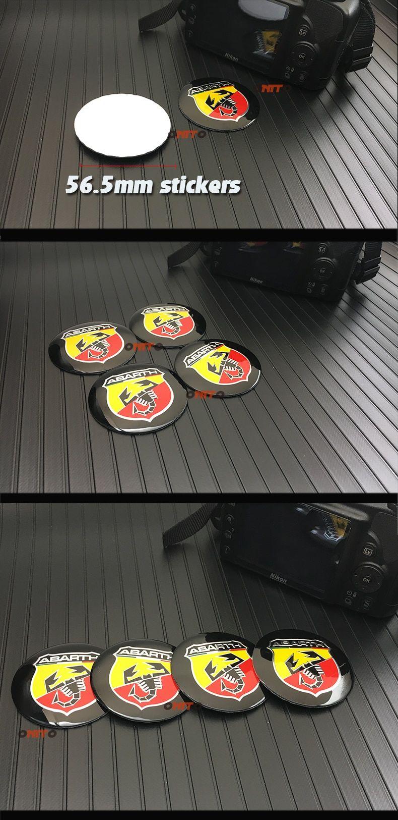 Automobile styling 20PCS 56MM 60mm 64mm Automobile Wheel